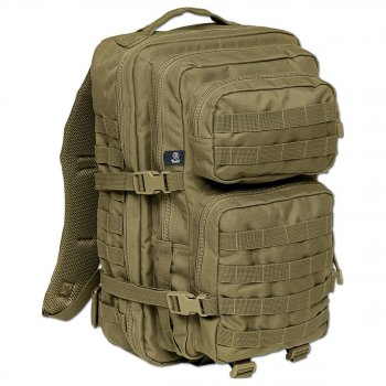 US Rucksack ASSAULT Pack II large, oliv
