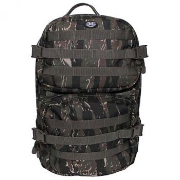 US Rucksack ASSAULT Pack II large, tiger stripe