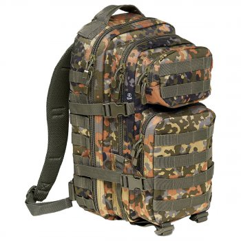 US Rucksack ASSAULT Pack flecktarn