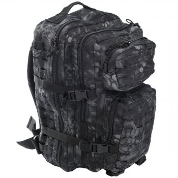 US Rucksack ASSAULT large LASER CUT mandra night