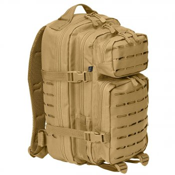 US Rucksack ASSAULT small LASER CUT coyote
