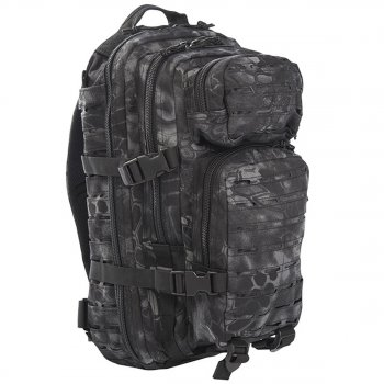 US Rucksack ASSAULT small LASER CUT mandra night