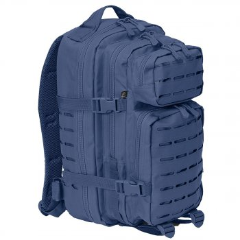 US Rucksack ASSAULT small LASER CUT navy-blau