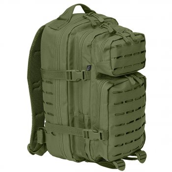US Rucksack ASSAULT small LASER CUT oliv