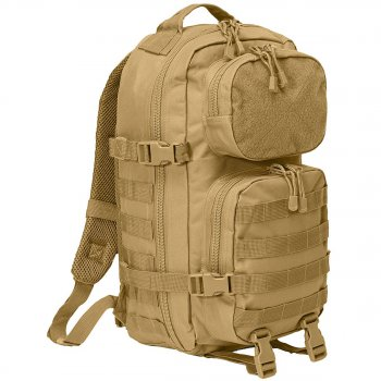 US Rucksack Assault Pack PATCH camel