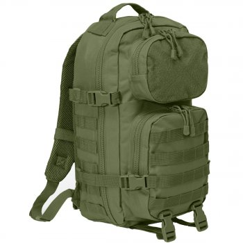 US Rucksack Assault Pack PATCH oliv