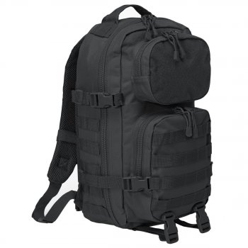 US Rucksack Assault Pack PATCH schwarz