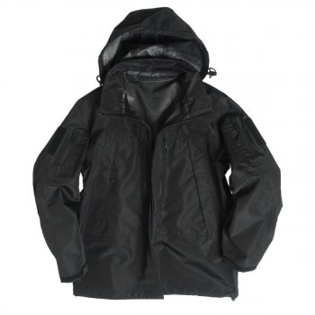 US Soft Shell Jacke LEVEL 5, schwarz, L