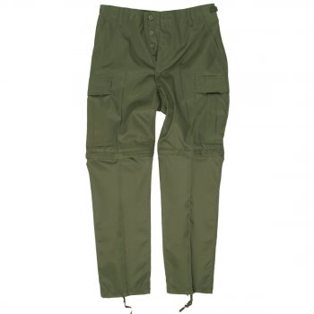 US Zip-off BDU Hose Kids oliv, XL (158/164)