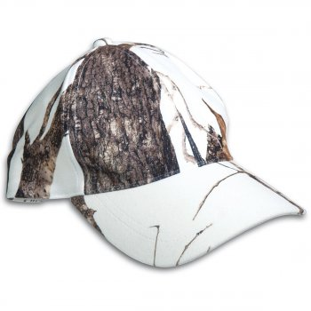 WILD TREES Baseball Cap, snow