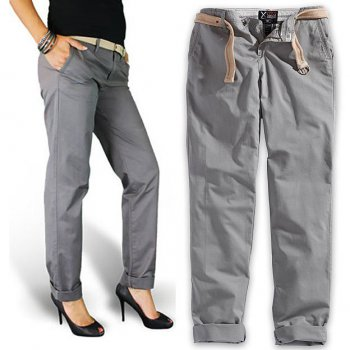 SURPLUS Xylontum Chino Trousers woman anthrazit, 38