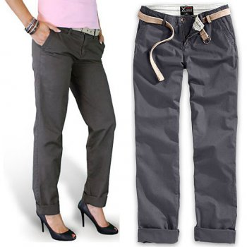 SURPLUS Xylontum Chino Trousers woman navy, 40