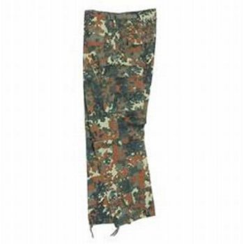Zip-Off Jungle Hose BDU, flecktarn