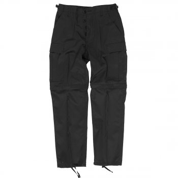 Zip-Off Jungle Hose BDU, schwarz L