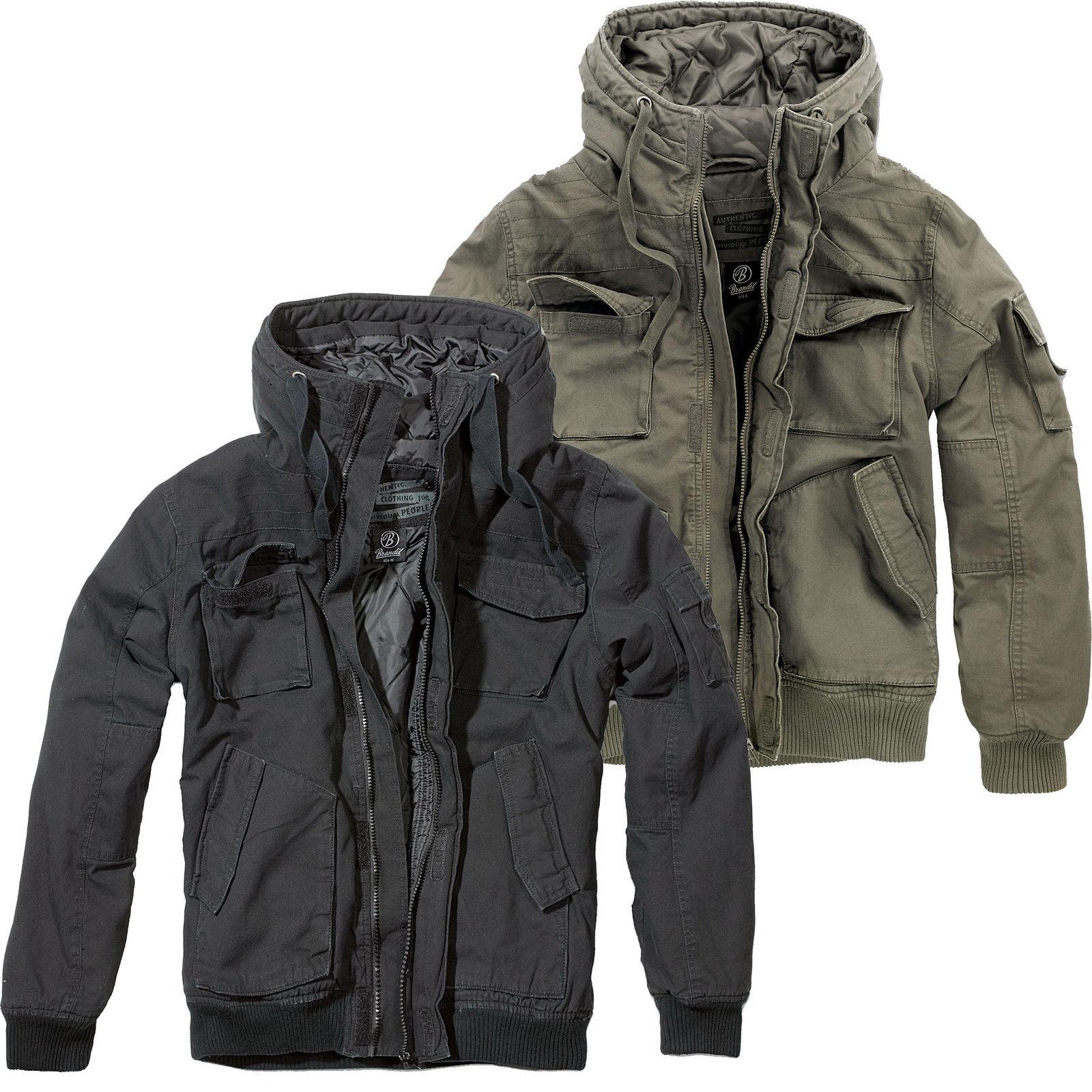 brandit bronx jacket s xxl kapuze jacke bomberjacke. Black Bedroom Furniture Sets. Home Design Ideas