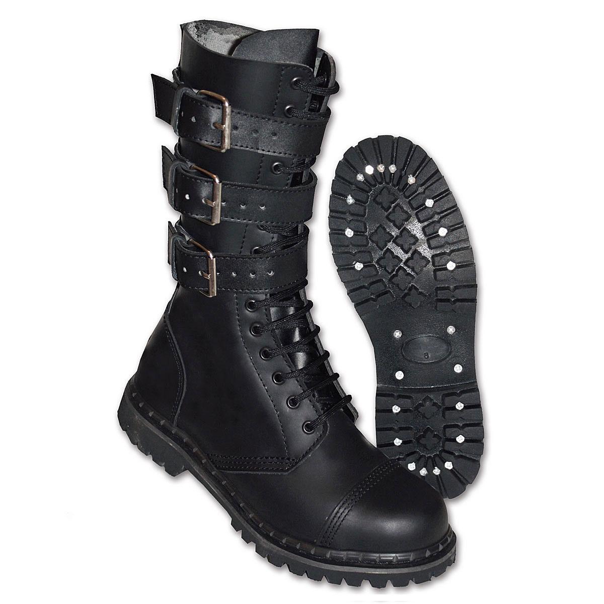 uk ranger phantom boots springerstiefel 38 47 leder gothic. Black Bedroom Furniture Sets. Home Design Ideas