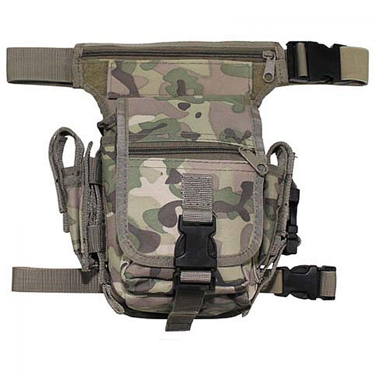 Набедренная сумка, камуфляж, фиксируется на ноге и поясе 30701X.
