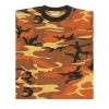 Tarn T-Shirt, orange camo