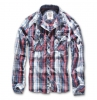 Central City Checkshirt navy-wei�