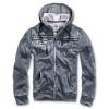 BRANDIT Rudy Sweatjacket anthrazit