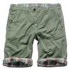 BRANDIT Raider 2in1 Shorts oliv