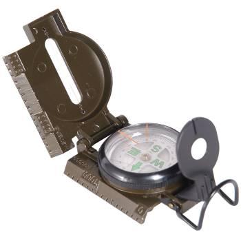 Grosser Kompass mit Karabiner Orientierungshilfe BW US Outdoor schwarz
