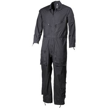 Overall SECURITY, schwarz, L