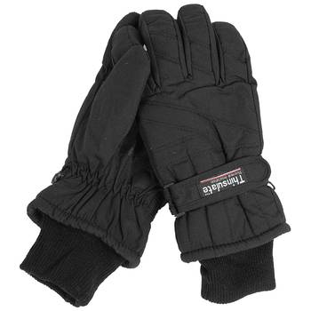 Thermo-Fingerhandschuhe Thinsulate schwarz, L