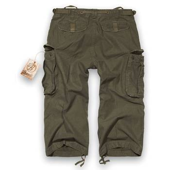 Industry 3/4 pants oliv, S