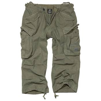 Industry 3/4 pants oliv, XL