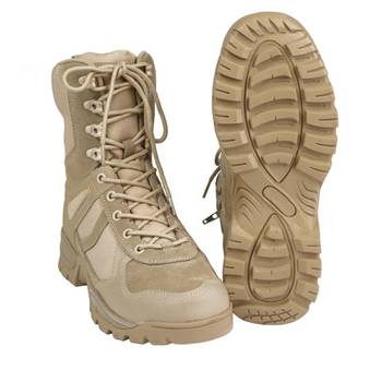 Stiefel PATROL One-Zip coyote, Gr. 10