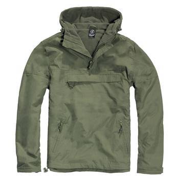 Hooded Windbreaker, oliv
