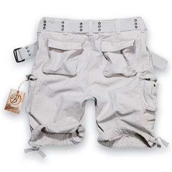BRANDIT Savage Shorts old white, S