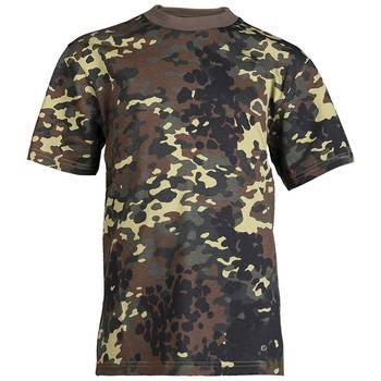 Kinder T-Shirt flecktarn, XS