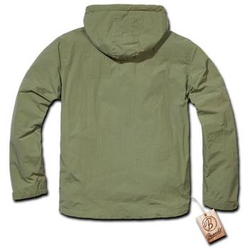 Hooded Windbreaker oliv, XXL