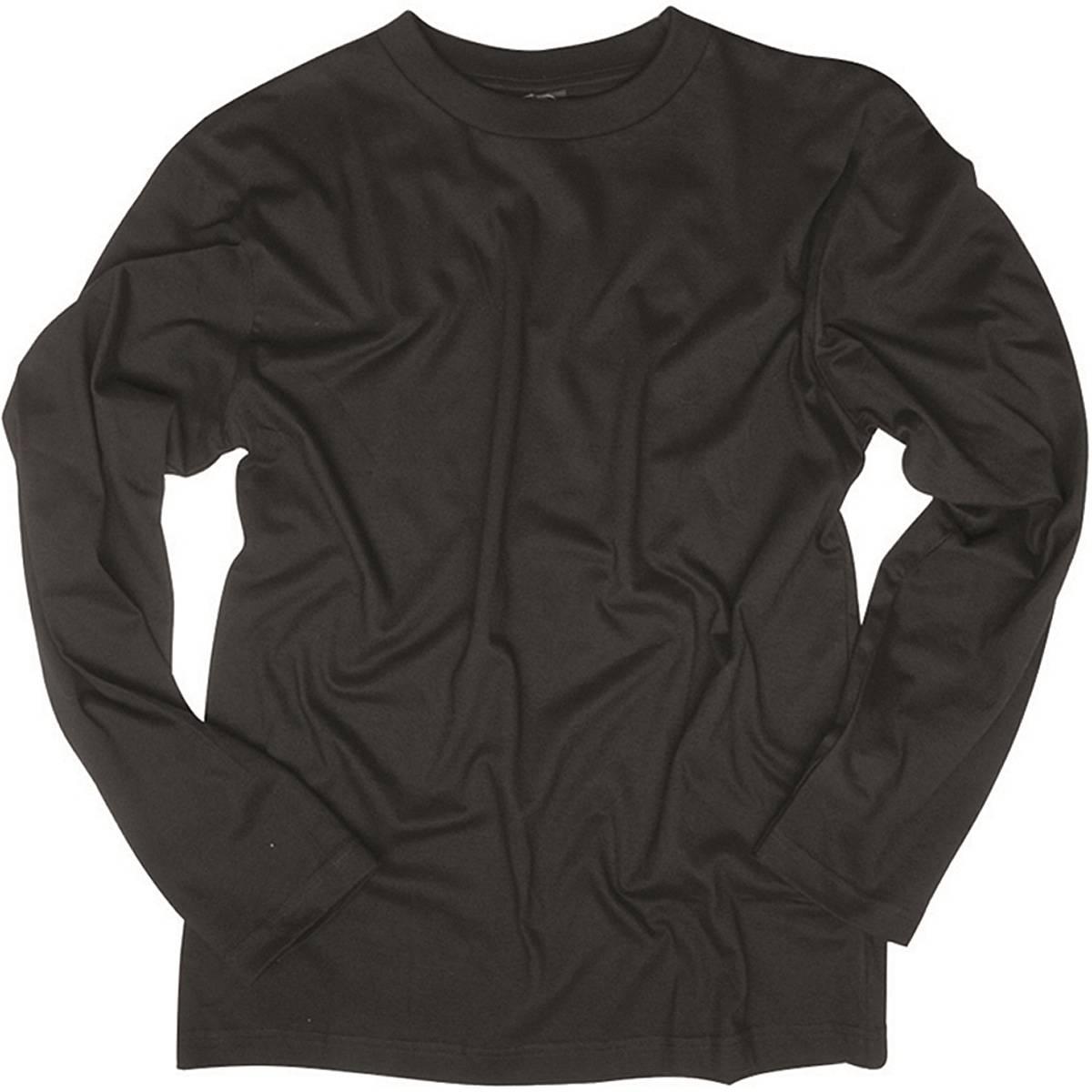 langarmshirt schwarz xxl der gro e bundeswehr shop army shop nato 8 90. Black Bedroom Furniture Sets. Home Design Ideas