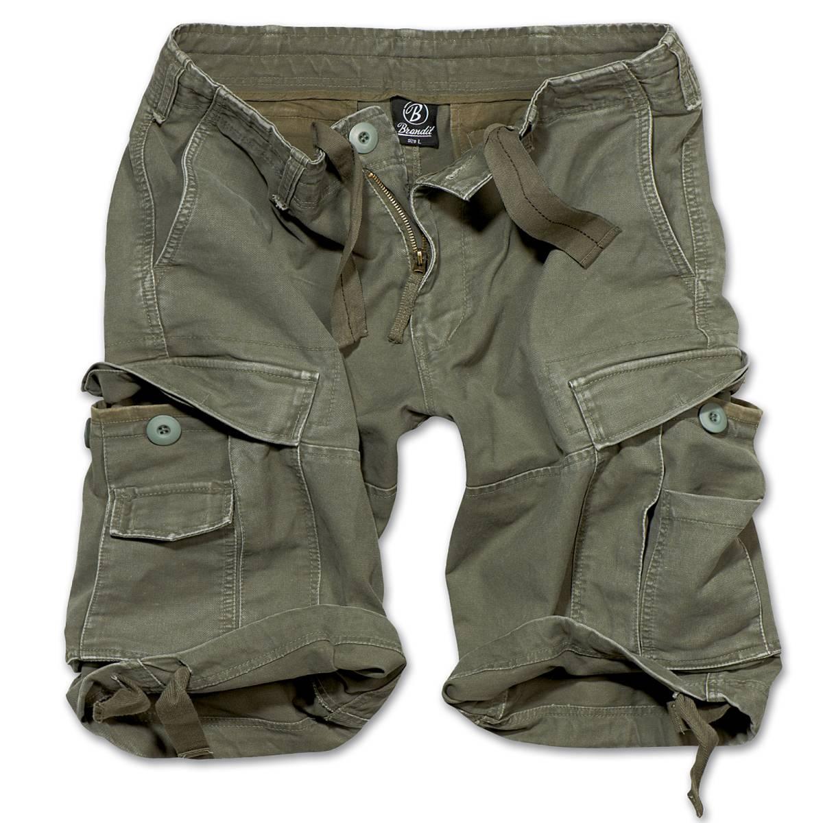 brandit vintage shorts oliv xxl der gro e bundeswehr shop army sho 28 90. Black Bedroom Furniture Sets. Home Design Ideas