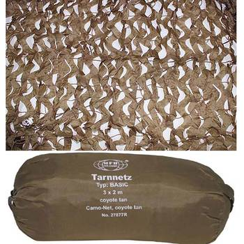 Tarnnetz BASIC 3 x 2 m, coyote