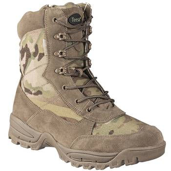 Tactical Boot mit YKK Zipper, multicam