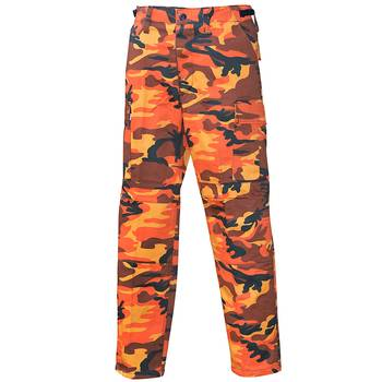 US Feldhose Typ BDU orange-camo, XL