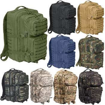 US Rucksack ASSAULT large LASER CUT oliv