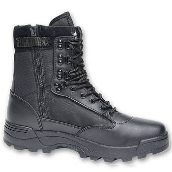 Tactical Swat Boots Zipper schwarz