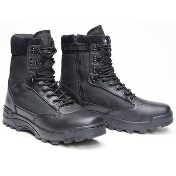 Tactical Swat Boots Zipper schwarz, 40