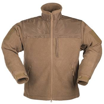 Elite Fleece Jacke HEXTAC coyote