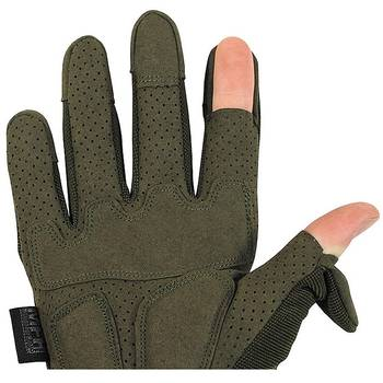 Tactical Handschuhe ACTION oliv, M