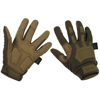 Tactical Handschuhe ACTION coyote, L