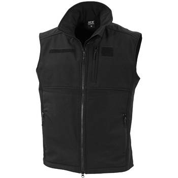 Softshell Weste Allround schwarz, M