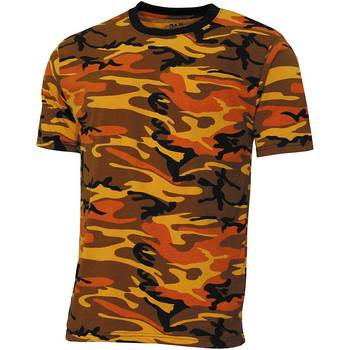 Tarn T-Shirt orange-camo