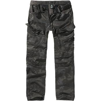BRANDIT Adven Slim Fit Trousers darkcamo, L