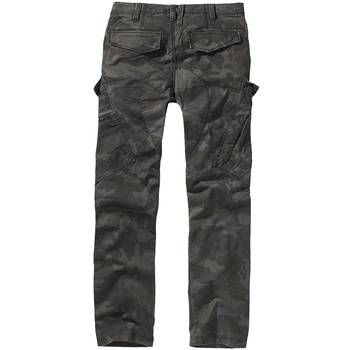 BRANDIT Adven Slim Fit Trousers darkcamo, XL